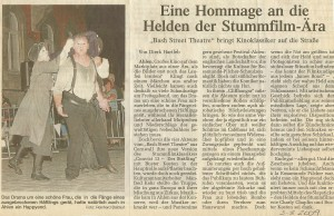 Bash Street Theatre - CLIFFHANGER! - Ahlen Germany 2009