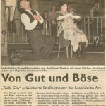 Bash Street Theatre - CLIFFHANGER! - Ahlen Germany 2009