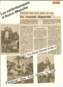 Bash Street Theatre - Morlaix 1991