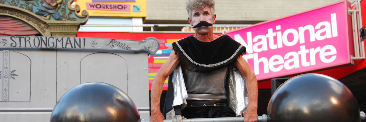 Bash Street Theatre-The Strongman
